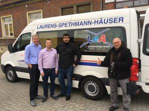Fa. Vandermoortele Deutschland GmbH spendet Büromöbel an LeA